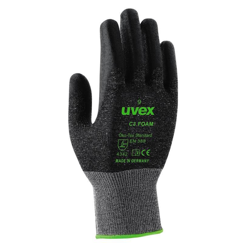 uvex C3 foam - 27 cm, v.7-11, Bamboo-Twinflex, nitrile foam