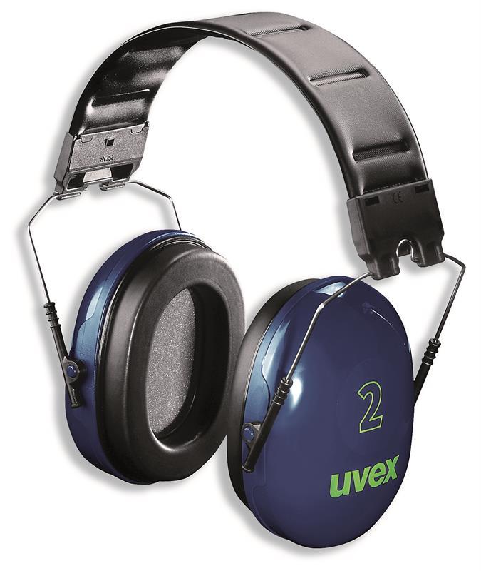 uvex  - Mušlový chránič uvex 2, modrý