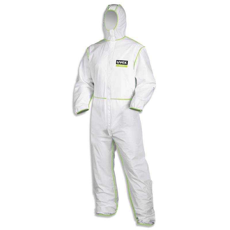 Overal Uvex 5/6 climazone - pro práci s azbestem a ochrana proti chemikáliím, bal. 10 ks
