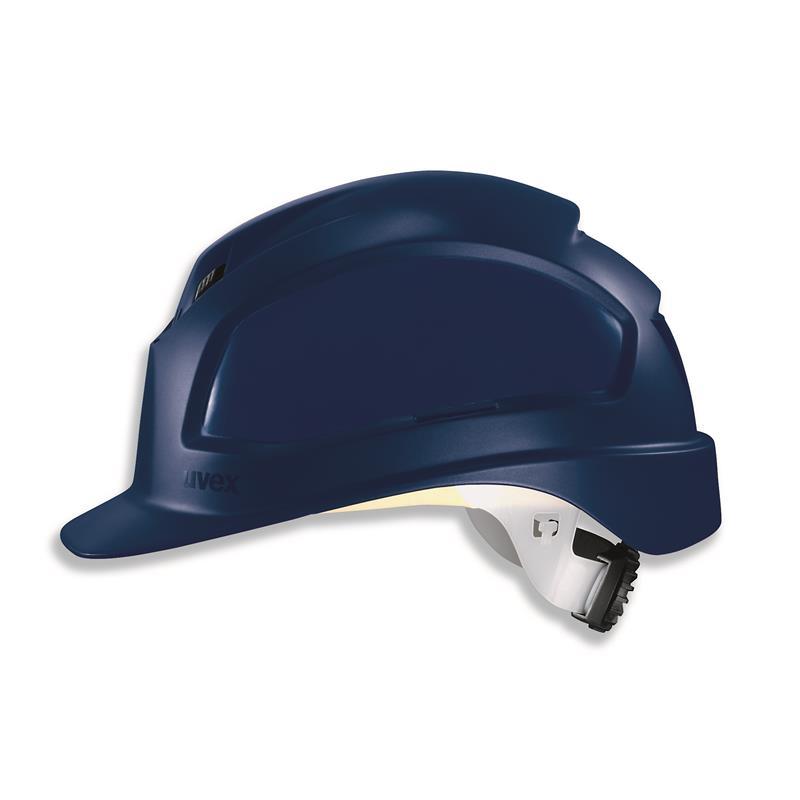 uvex 9780 - antistatic - WR,  přílba pheos alpine, 3 ventilační otvory, obvod hlavy 52-61 cm, modrá