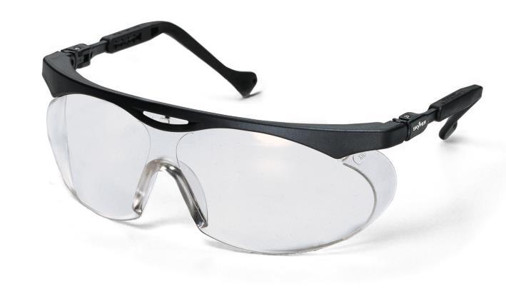 uvex 9195 - skyper, PC čirý/UV 2 -1,2 , supravision HC-AF, rámeček černý