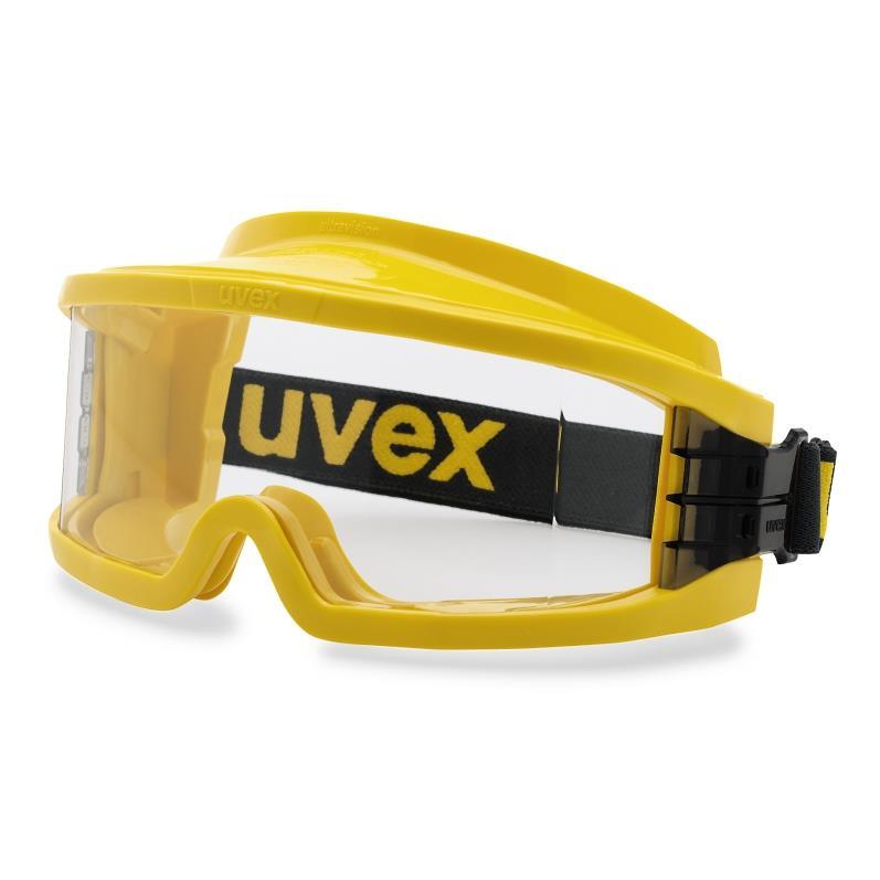 uvex brýle 9301.613 - PC čirý/UV 400, plynotěsné /W 166 3459 B CE, žlutá