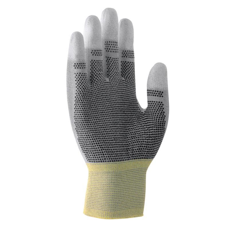 UNIPUR CARBON  - 22-27 cm, v.6-10,úplet nylon/carbon/PU, prsty