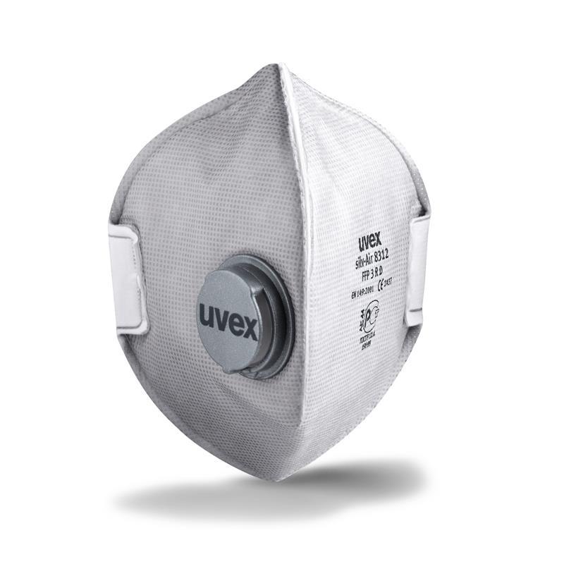 uvex - silv-Air p 8312 -FFP3- skládací s ventilem