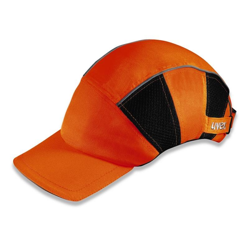 uvex 9794 - protinárazová čepice ARMADILLO, světélkující oranžová