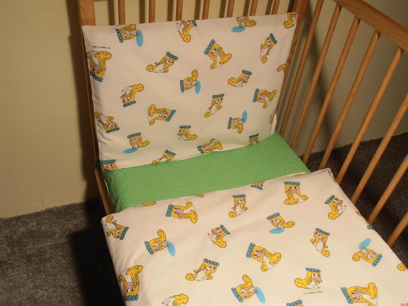 Ložní povlečení dětské bavlna 1+1 na dětskou postýlku