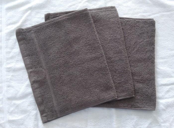 Froté ručník malý 30x50 tmavě šedý