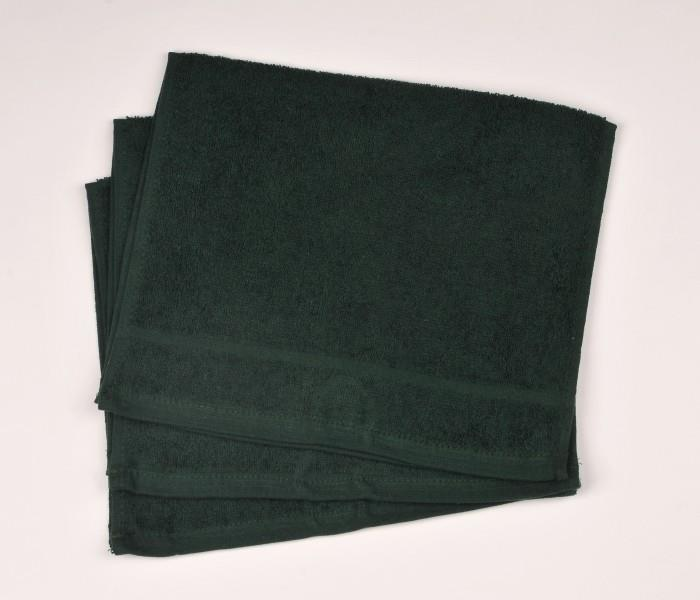 Malý froté ručník 30x50 tm. zelený