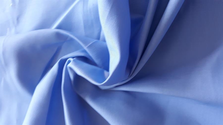 prostěradlo bavlněné rovné klasické - modré