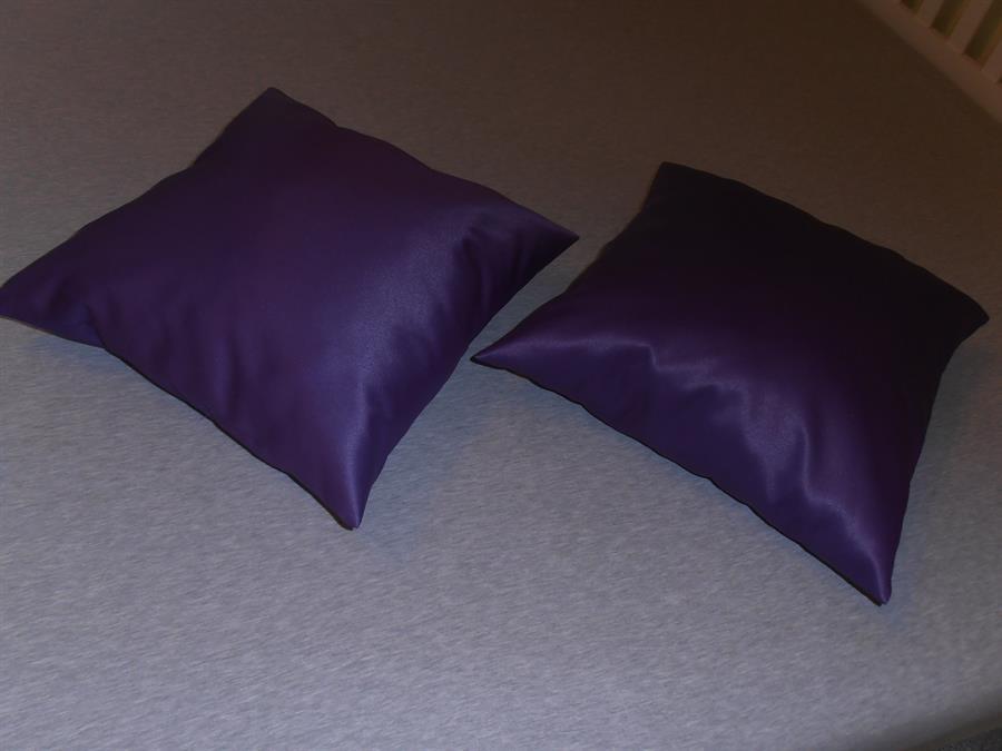 Dekorační polštářek 40x40 fialový