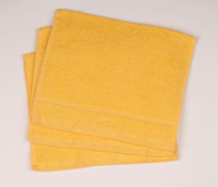 Malý froté ručník  30x50 žlutý