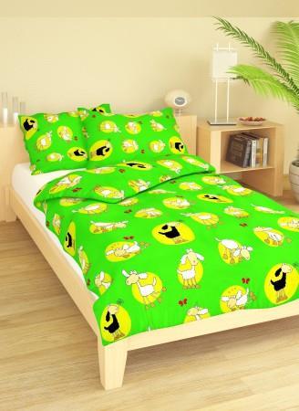 Ložní povlečení dětské bavlna 1+1 na velkou postel