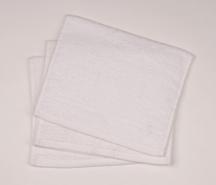 Malý froté ručník 30x50  bílý