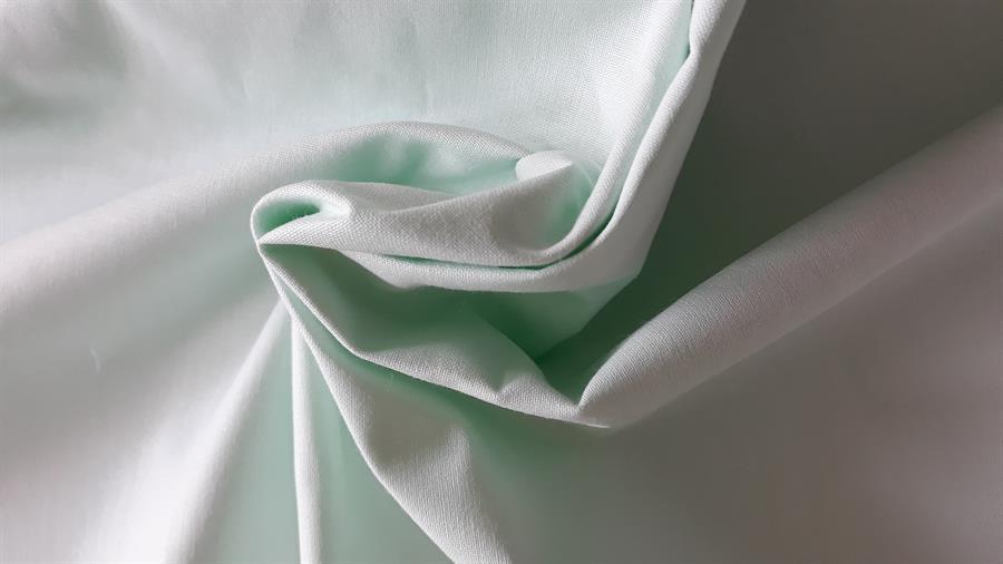 prostěradlo bavlněné rovné klasik - zelené