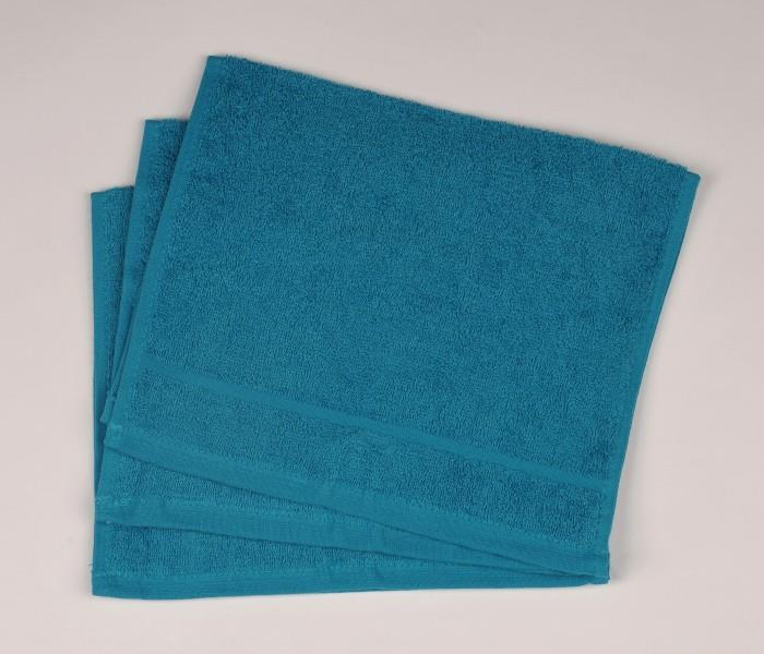 Malý froté ručník 30x50  azurově modrý