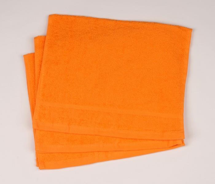 Malý froté ručník 30x50 oranžový