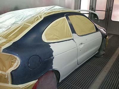 Lakování auta cena brno