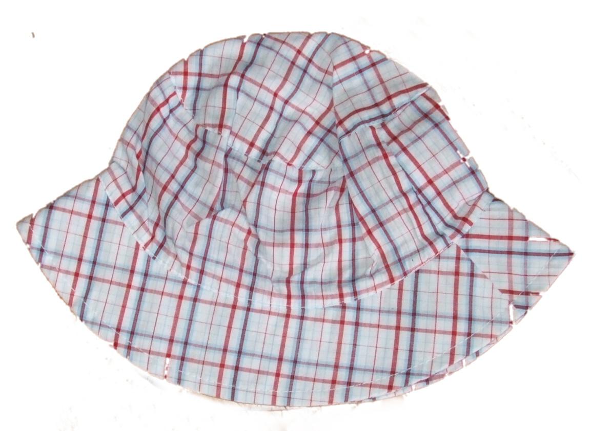 letní čepičky, klobouky, šátečky