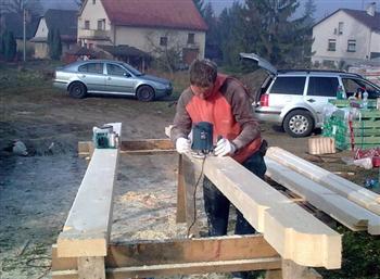 příprava krovu