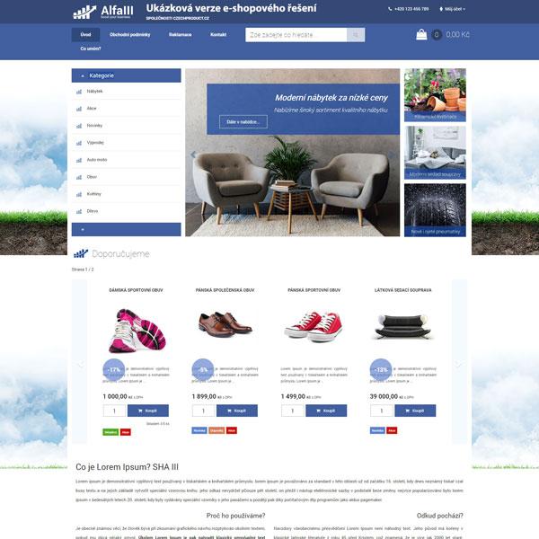 Vizualizace produktu - E-shop 3.0