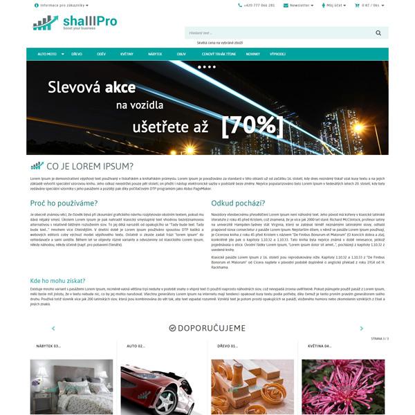 Vizualizace produktu - E-shop 3.0 PRO