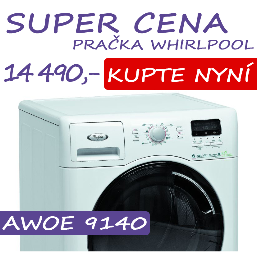 Praka Whirlpool AWOE 9140 za 14 490,-K