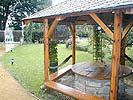 zahradní pergola - Ubytování Jižní Čechy - Třeboň | Penzion U Vejvodů
