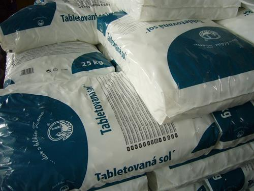 Sůl tabletovaná 25kg