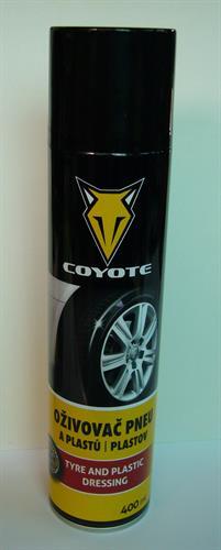 Oživovač pneumatik a vnějších plastů