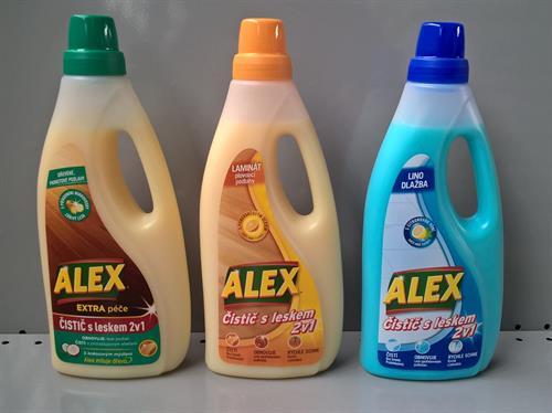 Alex čistič s leskem 2v1