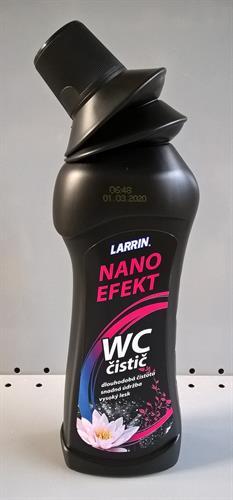 Larrin WC čistič s NANO efektem
