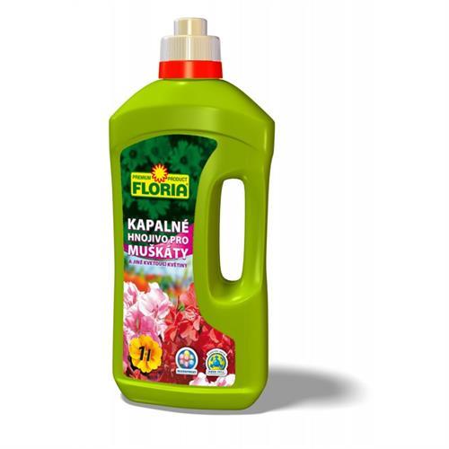 FLORIA Kapalné hnojivo pro muškáty