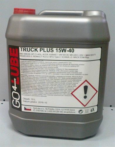 GO4Lube TRUCK PLUS 15W-40 motorový olej