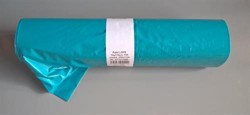 Pytle na odpad 70cm x 110cm (120 litrů), 50mikronů, modré