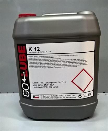 Go4Lube K12 kompresorový olej 10 l