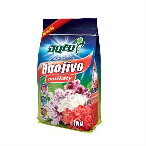 AGRO organo-minerální hnojivo pro muškáty
