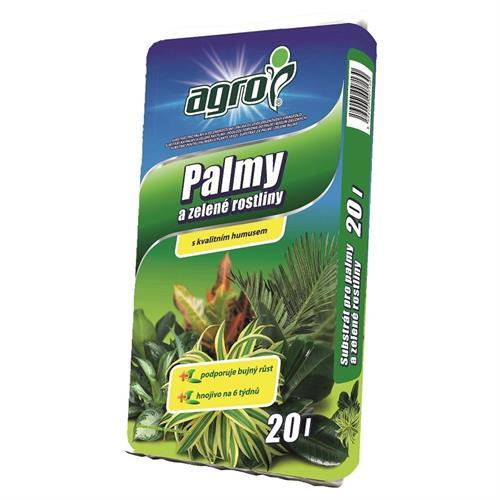Substrát pro palmy a zelené rostliny