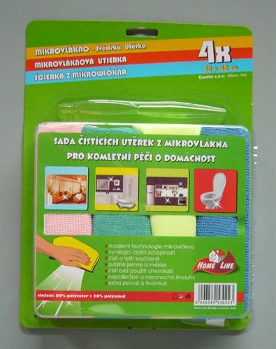 Švédská utěrka - sada 4ks