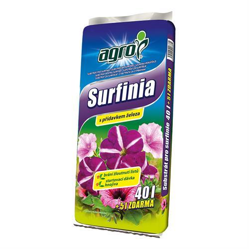Substrát pro Surfinie a Petunie