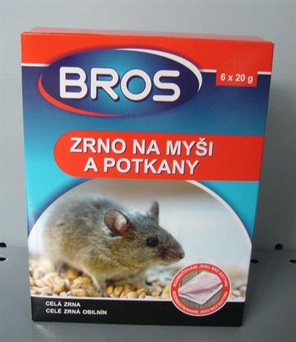BROS Zrno na myši a potkany