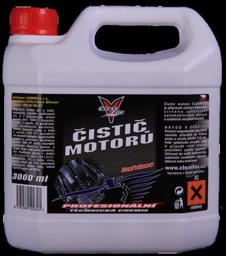 CLEANFOX Čistič motorů 3 L