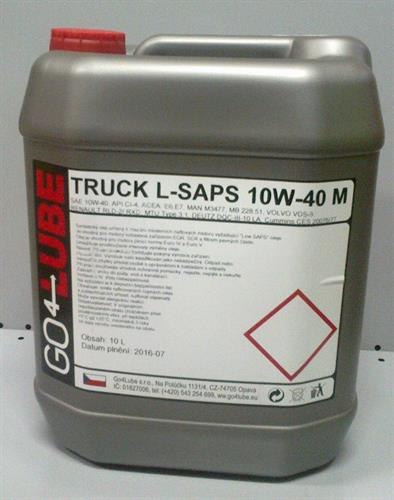 GO4Lube Truck Low SAPS 10W40