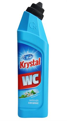 Krystal WC čistič modrý na keramiku