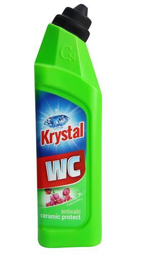 Krystal WC čistič zelený na keramiku s ochranou