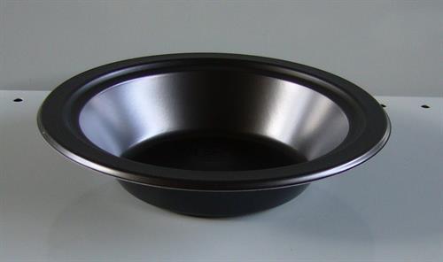 Talíř - miska plastová jednorázová pevná černá