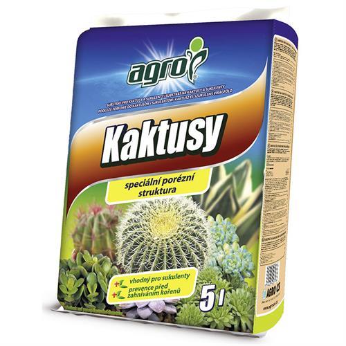 Substrát pro kaktusy a sukulenty
