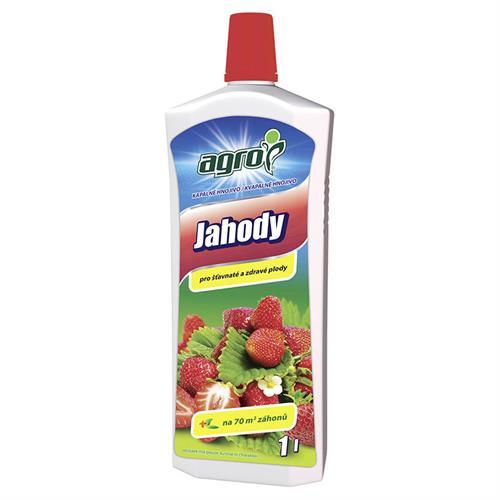 Kapalné hnojivo pro jahody