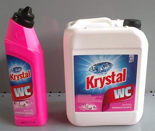 KRYSTAL WC cleaner růžový