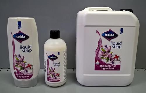 ISOLDA tekuté mýdlo s antibakteriální přísadou