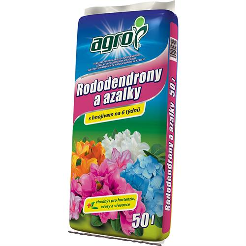 Substrát pro azalky a rododendrony